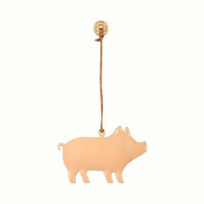 Adorno navideno - cerdito - decoracion arbol - original - Maileg . Liderlamp