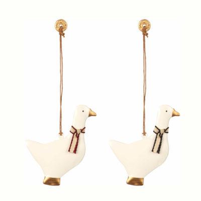 Adorno navideno - ganso - decoracion arbol - original - Maileg - Liderlamp