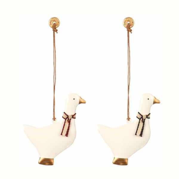 Adorno navideno – ganso – decoracion arbol – original – Maileg – Liderlamp