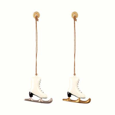 Adorno navideno - patines - decoracion arbol - original - Maileg - Liderlap