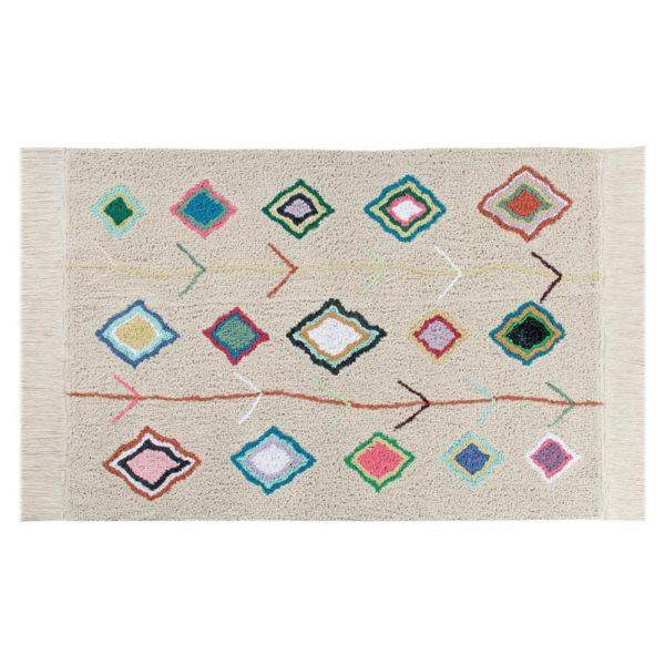 Alfombra Kaarol – estilo etnico – Lorena Canals – decoracion textil – Liderlamp (1)