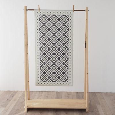 Alfombra vinilica - Geometric Mint - decoracion - cocina - bano - geometria - Liderlamp