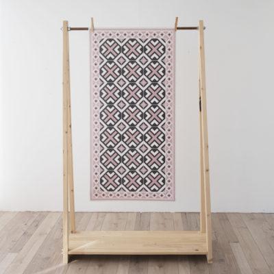 Alfombra vinilica - Geometric Rosa - decoracion - cocina - bano - geometria - Liderlamp