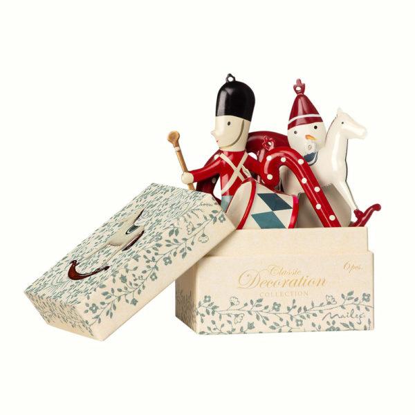 Caja de adornos de Navidad – Clasico – decoracion – arbol – Maileg – Liderlamp (1)