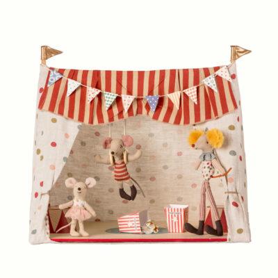 Circo + 3 ratones - juguetes tradicionales - Maileg - decoracion infantil - Liderlamp