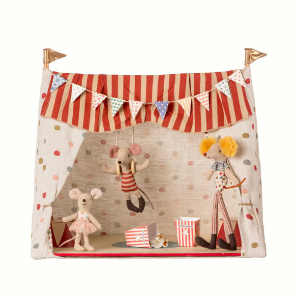 Circo + 3 ratones – juguetes tradicionales – Maileg – decoracion infantil – Liderlamp