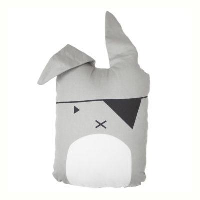 Cojin Animal Bunny Pirata - decoracion infantil - conejito - Fabelab - Liderlamp
