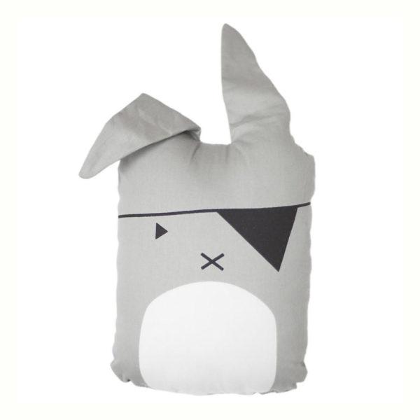 Cojin Animal Bunny Pirata – decoracion infantil – conejito – Fabelab – Liderlamp