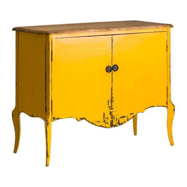 Consola Trieste – estilo provenzal – madera decapada – mueble auxiliar – Liderlamp (2)