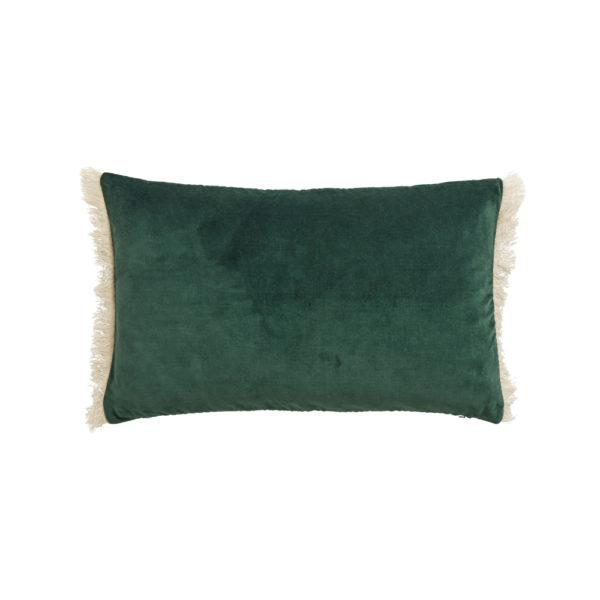 Funda de cojin – flecos terciopelo – – decoracion textil – Liderlamp (4)
