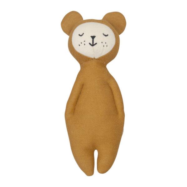 Sonajero Suave Bear – regalo recien nacido – juguetes tradicionales – Liderlamp