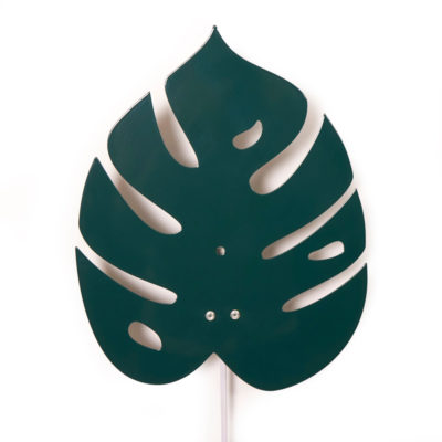Aplique Monstera - Decoracion Botanica - hoja de monstera - Roommate - Liderlamp (2)