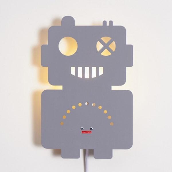 Aplique Robot – Decoracion infantil – robot retro metal – Roommate – Liderlamp