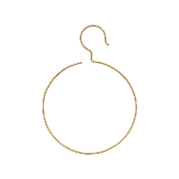 Gancho de anillo - laton - colgador - toallero - perchero - House Doctor - Liderlamp (2)