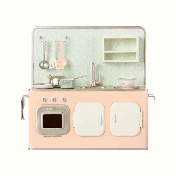 Gran cocinita rosa empolvado – Maileg – Juguetes tradicionales – deco – liderlamp (1)