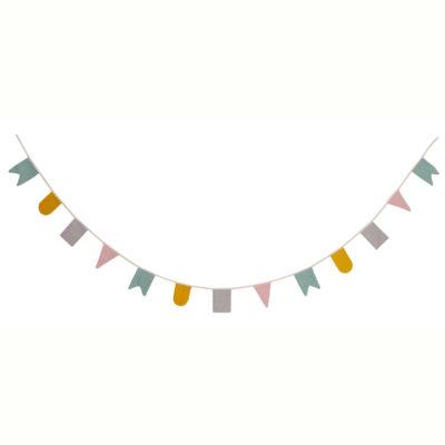 Guirnalda Hip Hip Hurra - Colores pastel - deco infantil - Roommate - Liderlamp