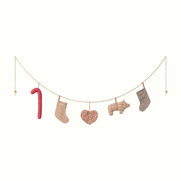 Guirnalda navidena – 5 piezas – Maileg – adornos navidenos – decoracion – Liderlamp (1)