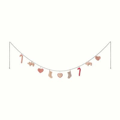 Guirnalda navidena - 9 piezas - Maileg - adornos navidenos - decoracion - Liderlamp (1)