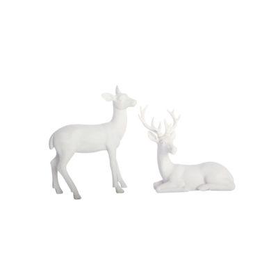 Juego de dos ciervos - centro de mesa navidad - decoracion navidena - House Doctor - Liderlamp