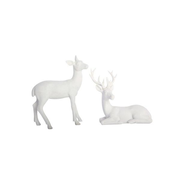 Juego de dos ciervos – centro de mesa navidad – decoracion navidena – House Doctor – Liderlamp