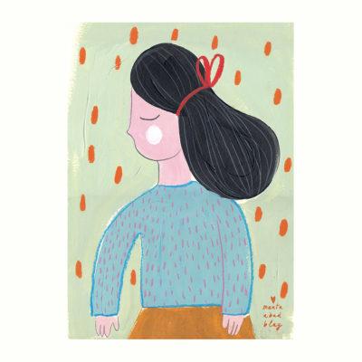 Lamina What Penny wants - Marta Abad - Ilustraciones infantiles - Liderlamp