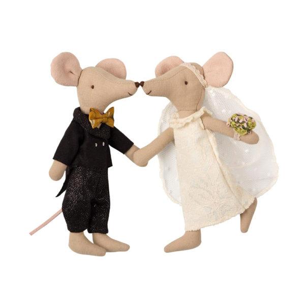 Pareja de novios ratones – Maileg – regalo novios – juguetes tradicionales – Liderlamp (2)