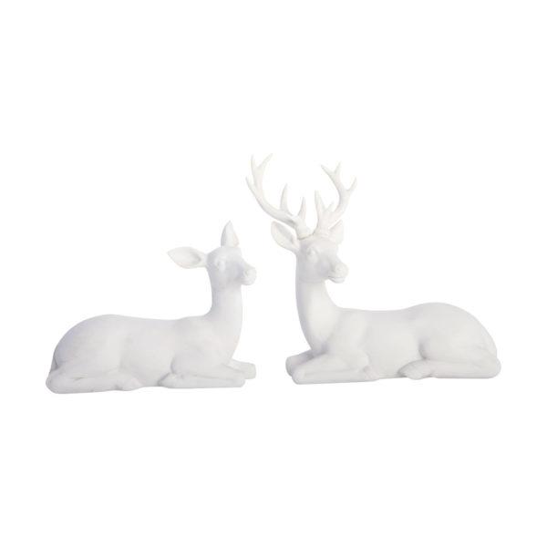 Set de 2 ciervos – centro de mesa navidad – decoracion navidena – House Doctor – Liderlamp