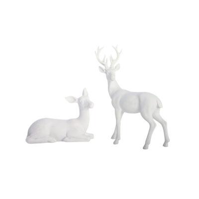 Set de 2 ciervos - centro de mesa navidad - decoracion navidena - House Doctor - Liderlamp