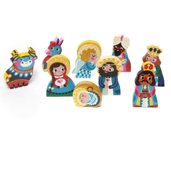 Belen de figuritas de madera – Petit Monkey – Helen Dardik – Liderlamp (2)