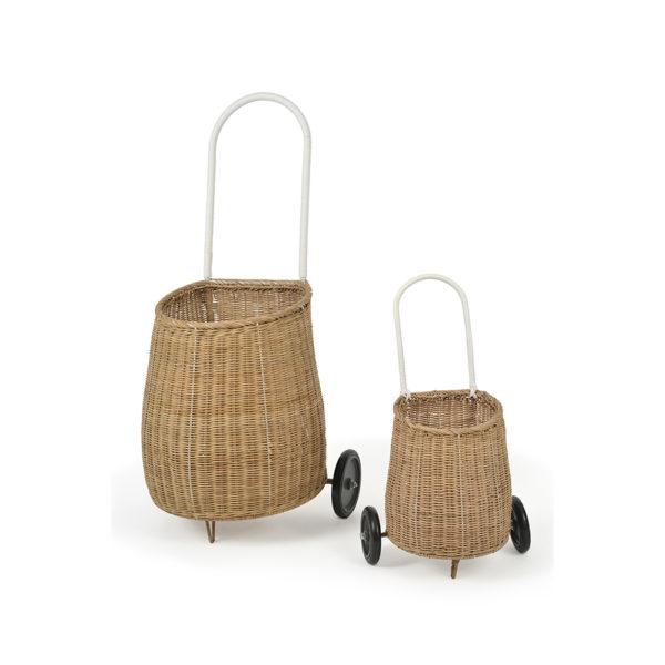 Luggy – color natural – cesta – carrito compra – almacenaje – Olli Ella – Liderlamp (2)