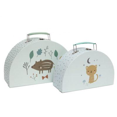 Set de 2 maletines - Baby boar - Petit Monkey - almacenaje pequeno - Liderlamp (2)