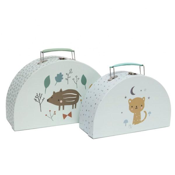 Set de 2 maletines – Baby boar – Petit Monkey – almacenaje pequeno – Liderlamp (2)