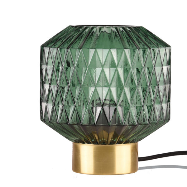 Sobremesa Bourbon – cristal y metal – Opjet Paris – Liderlamp