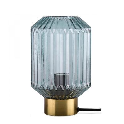 Sobremesa Celesta - cristal y metal - Opjet Paris - Mid Century - Liderlamp