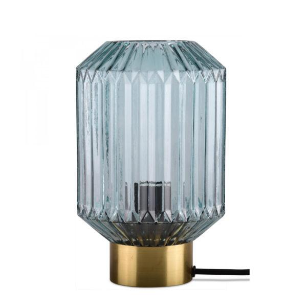 Sobremesa Celesta – cristal y metal – Opjet Paris – Mid Century – Liderlamp