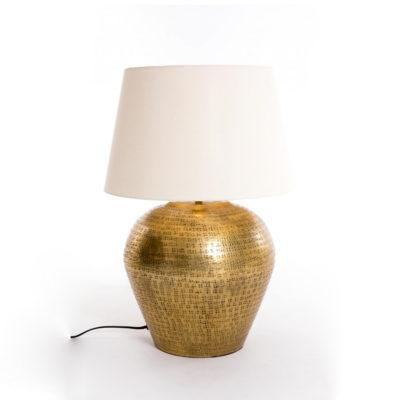 Sobremesa June - lampara de metal - dorado - Gajisa - Liderlamp (2)