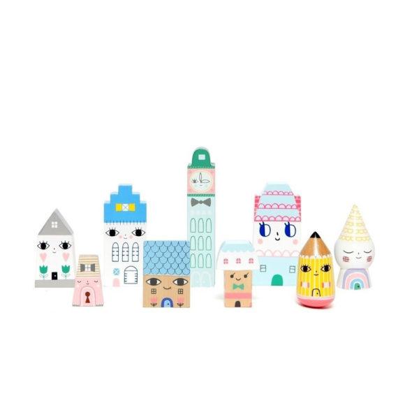 Suzys City – una ciudad de madera – Petit Monkey – juguetes de madera – Liderlamp (2)