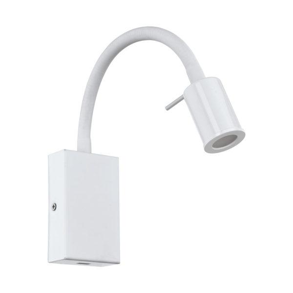 Aplique Beli - color blanco - Eglo - luz de lectura - mesita de noche - Liderlamp