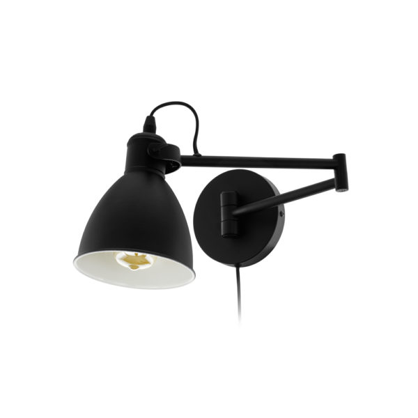 Aplique Calabria – estilo industrial – brazo extensible – EGLO – Liderlamp