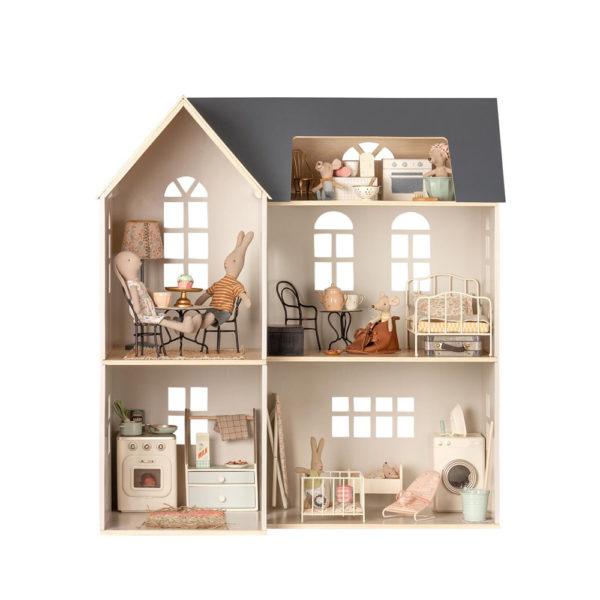 Casa de madera – Maileg – casa de munecas – juguetes vintage – Liderlamp (1)
