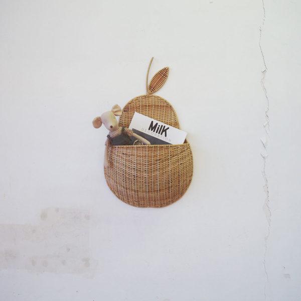 Cesta Pera – Mikaniu – color natural – almacenaje ninos – revistero – Liderlamp (2)