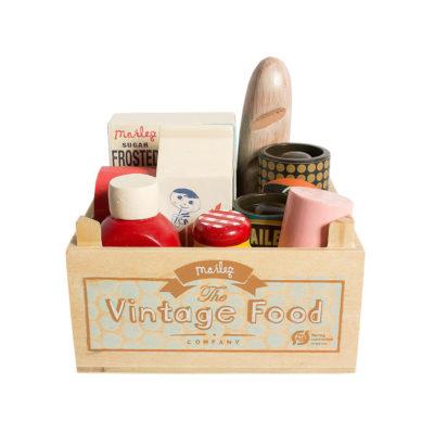 Cesta de la compra - set de comida vintage - Maileg - juguetes vintage - Liderlamp (2)