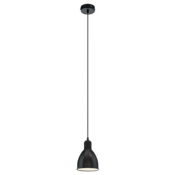 Colgante Foxhound – estilo industrial – foco negro – Eglo – Liderlamp (2)