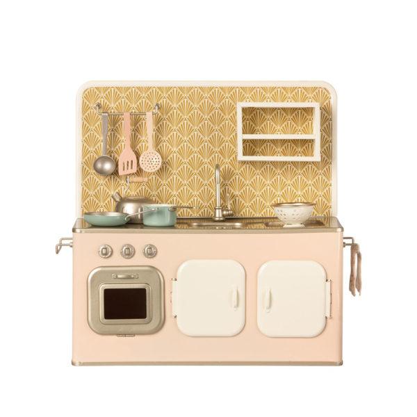 Gran cocinita rosa empolvado - Maileg - Juguetes tradicionales - deco - Liderlamp