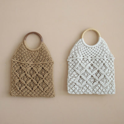 Bolsa Victoria - tejido de crochet - ganchillo - vintage - Mikanu - Liderlamp (1)
