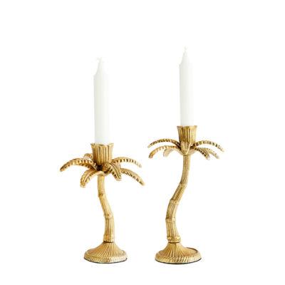 Candelabro Miami - palmeras - decoracion natural - velas - Madam Stolz (1)
