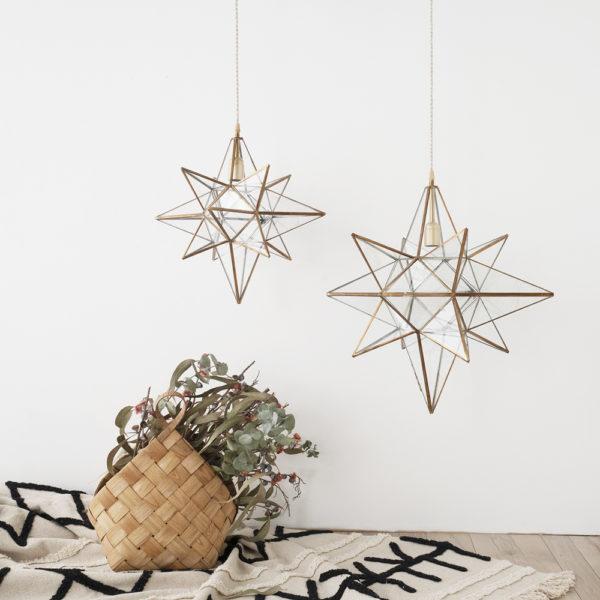 Colgante Helio – faroles marroquis – lampara artesana – cristal – Liderlamp (2)