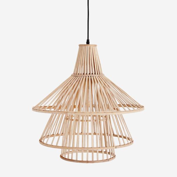 Colgante Polison – lampara de techo – bambu – natural – Madam Slotz – Liderlamp (3)