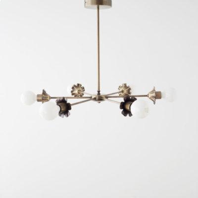 Colgante Sepalo - lampara colgante - oro envejecido - Arano - Liderlamp