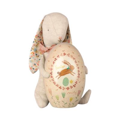 Conejo de Pascua - Maileg - huevo de Pascua - peluche - Liderlamp (1)